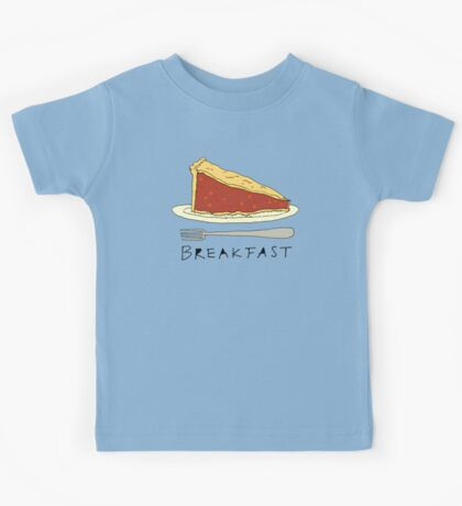 Pie for Breakfast Kids Tee