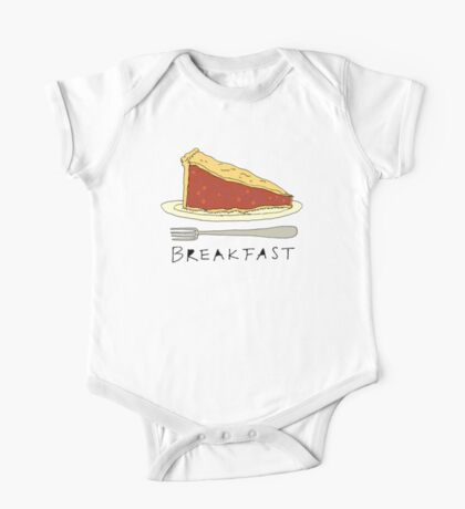 Pie for Breakfast One Piece - Short Sleeve