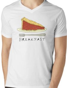 Pie for Breakfast Mens V-Neck T-Shirt