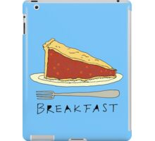 Pie for Breakfast iPad Case/Skin