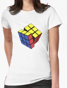 Rubik's cube stuff 3 Womens Fitted T-Shirt