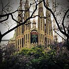 Sagrada Familia by Caroline Fournier
