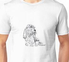 Basset Pink Unisex T-Shirt