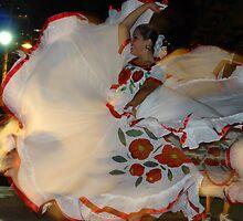 The Dancer - La Bailarina by Bernhard Matejka