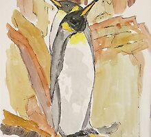 Emperor Penguins by William C Smith