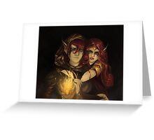 ElvenFlame Greeting Card