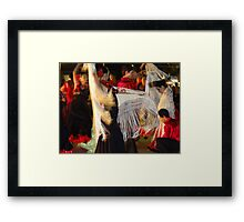 Standstill And Drive - Parada Y Movimiento Framed Print