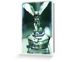 Rolls Royce Angel Greeting Card