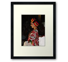 Happy Beauty - Belleza Feliz Framed Print