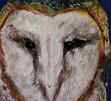 Barn Owl UK Wildlife Home Decor by JamesPeart