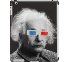 Einstein - 3D iPad Case/Skin