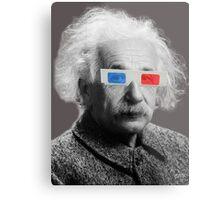 Einstein - 3D Metal Print