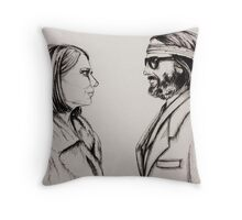 Margot and Richie Throw Pillow