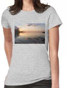 Some Mornings Are Better Than Others... Womens Fitted T-Shirt