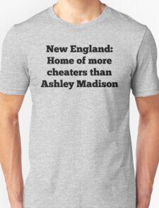New England/Ashley Madison Unisex T-Shirt