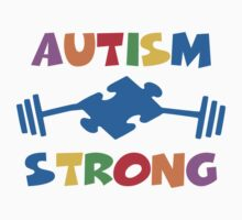 Autism Strong One Piece - Long Sleeve