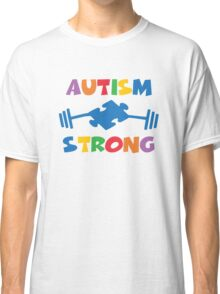 Autism Strong Classic T-Shirt