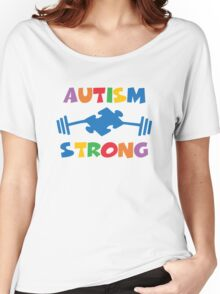 Autism Strong Women's Relaxed Fit T-Shirt