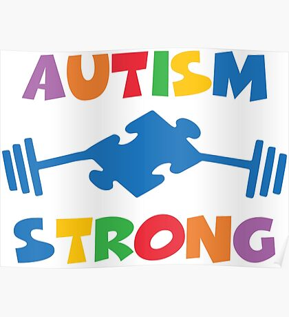Autism Strong Poster