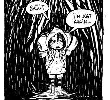 Lost in the woods by esa tia bizarra