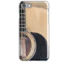 Martin Acoustic Guitar SSC-D35-14 - from Canada - Watercolor Art Print  iPhone Case/Skin