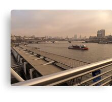 River Thames.. Canvas Print