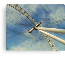 London Eye Effect.. Canvas Print