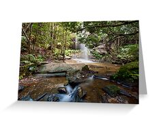 Adelina Falls, Lawson NSW Greeting Card