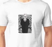 Anonymous revolution without blood ? 2 Unisex T-Shirt