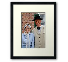 Canadian Gothic Framed Print