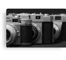 35mm. film trio Canvas Print