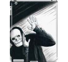 A Stupid Mask Is Not Going To Make You Invincible, Dude iPad Case/Skin