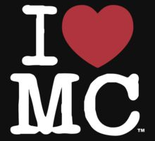 I Love MC (Dark) by milescity