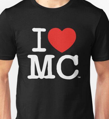 I Love MC (Dark) Unisex T-Shirt