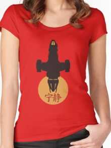 Firefly - Serenity Silhouette - Joss Whedon Women's Fitted Scoop T-Shirt