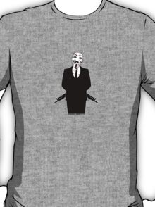 Anonymous revolution without blood ? small 2 T-Shirt