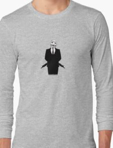 Anonymous revolution without blood ? small 2 Long Sleeve T-Shirt