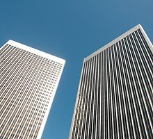 Office towers by Jeff Kauffman