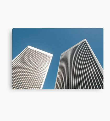 Office towers Canvas Print