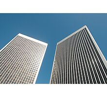 Office towers Photographic Print