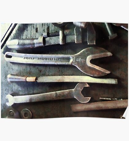 Several Wrenches Poster