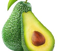 Cut avocado fruits by 6hands