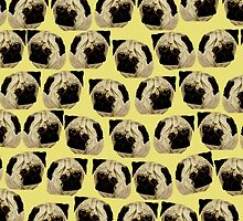 Pug Dogs by JamesPeart