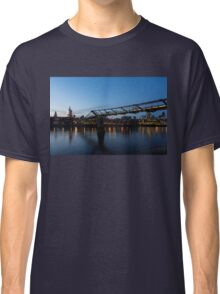 Reflecting on Bridges and Skylines - City of London, England, UK Classic T-Shirt