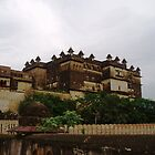 Orchha Fort, India by Sue Ballyn