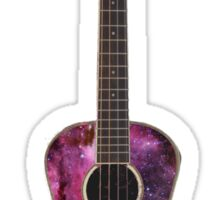 Galaxy Ukulele Sticker