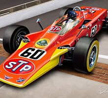 Lotus Indy 500 Turbine Wedge by davidkyte