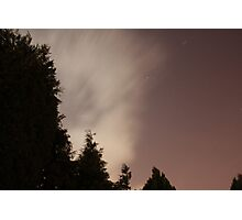 Backyard Photography - Sky at Night  Photographic Print