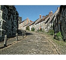 Gold Hill Shaftsbury Photographic Print