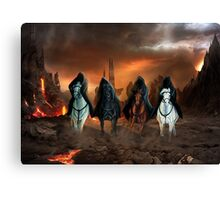 Four Horsemen Of The Apocalypse Canvas Print